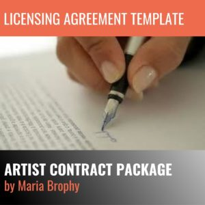 Artist Licensing Agreement Template
