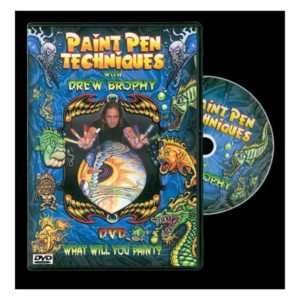PAINT PEN TECHNIQUES WITH DREW BROPHY DVD