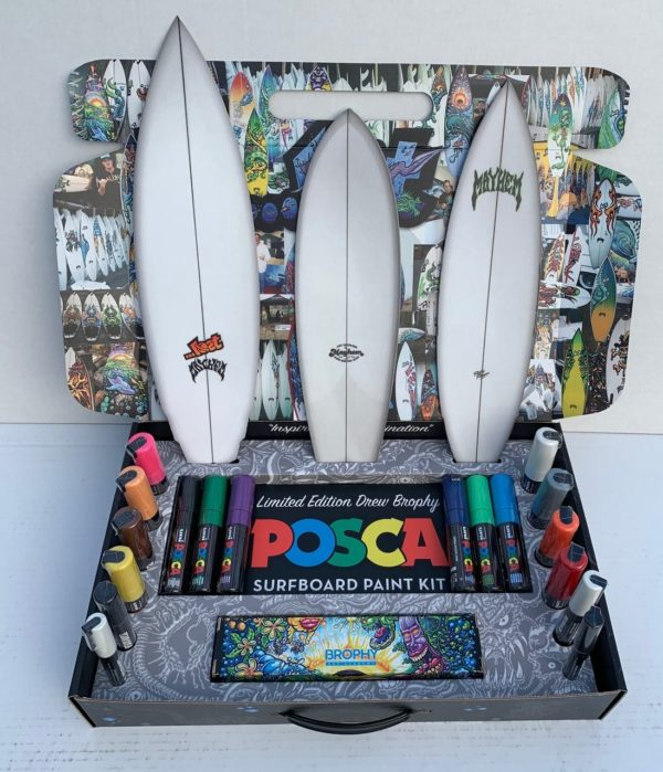 brophy surfboard posca kit and course