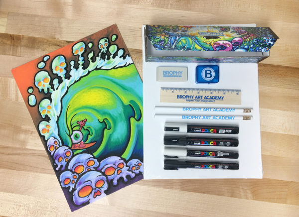 Brophy Posca Detail Kit - 4 paint pens