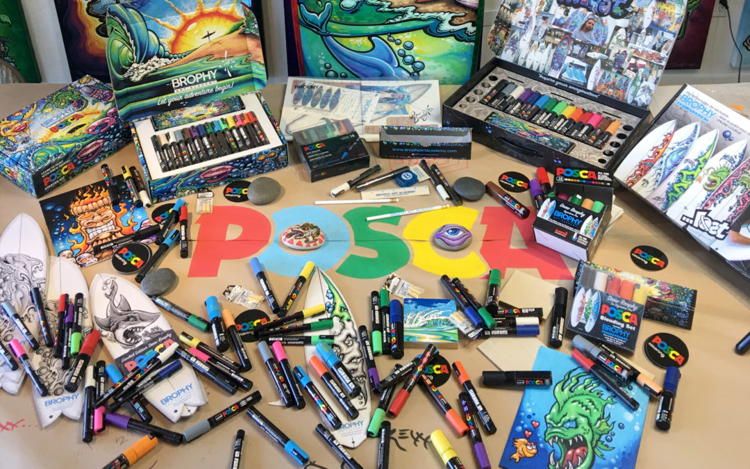 Posca Pen Art: Discover What You Can Create